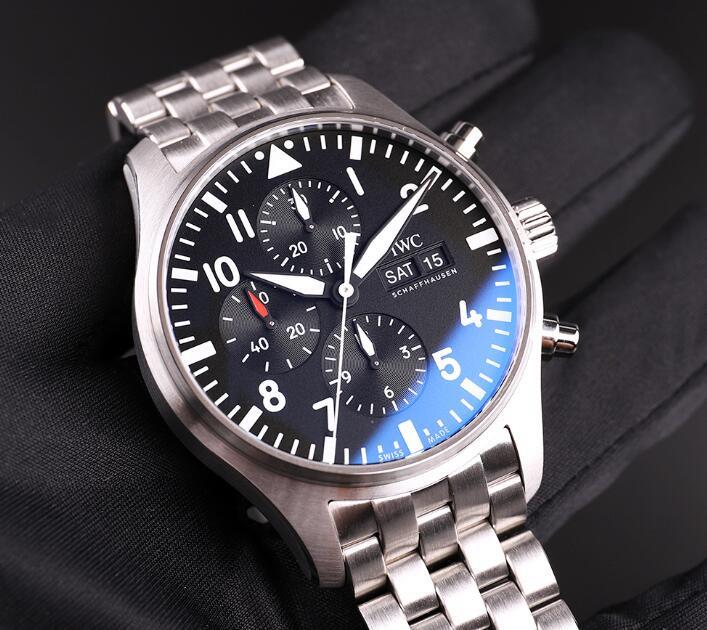 IWC Pilot Automatyczny Chronograf IW377710 Męski Zegarek Repliki