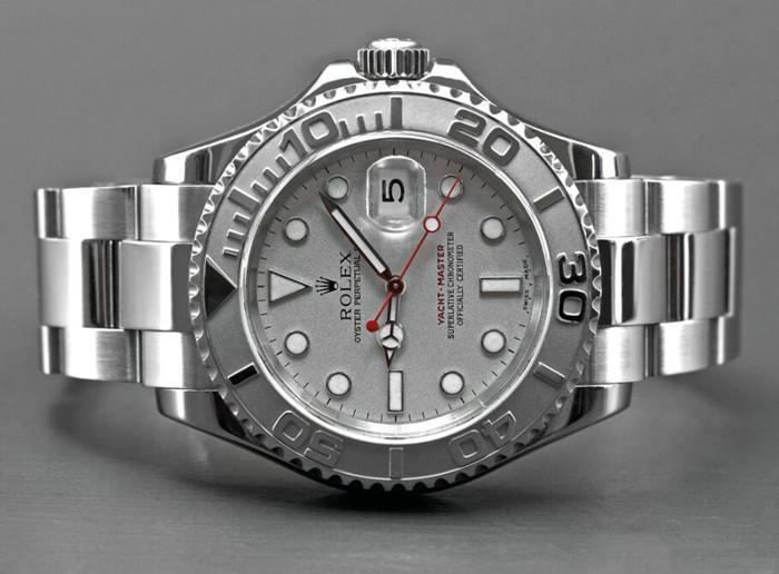 Najgorętszy Szary Zegarek Rolex Yacht-Master 16622 Męski Replikowy Zegarek